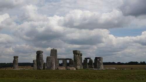 Stonehenge Stone Circle England Mystical