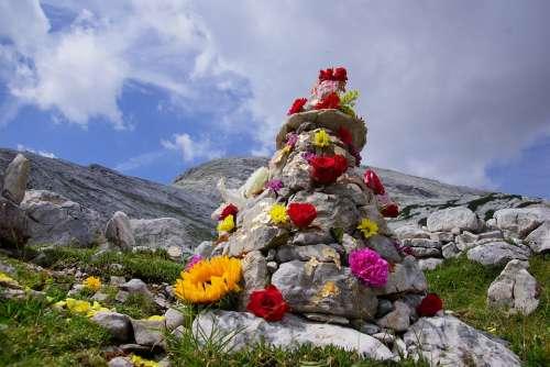 Stones Mountain Alps Nature Stone Scenic