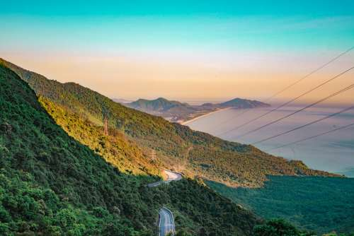 Street Mountain Pass The Hill