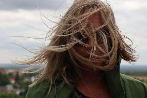 Summer Wind Portrait Hair Scattered