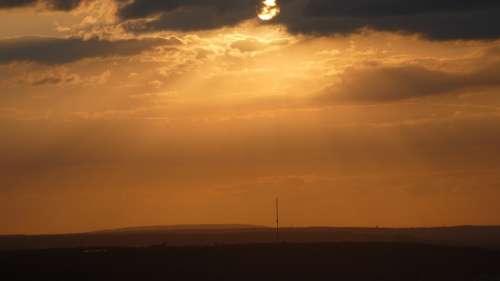 Sun Bonn The Hill Of Venus Germany Nature Mood