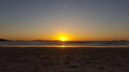 Sunset Beach Australia Evening Wilsons Promontory