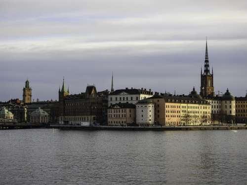 Sweden Stockholm Architecture City Scandinavia