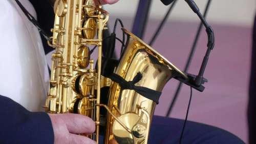 Szakszofon Music Tool Musical Instrument Saxophone