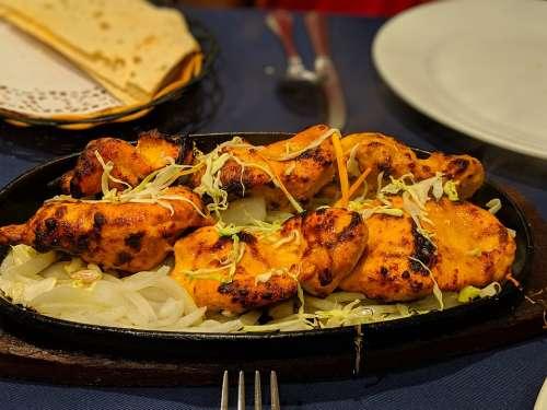 Tandoori Chicken Curry Cooking Food Taste Spice