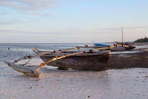 Tanzania Zanzibar Africa Sea Travel Beach
