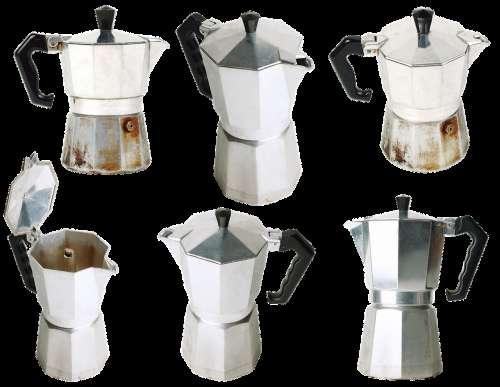 Tea Coffee Boiling Drink Kitchen Metal Stylish
