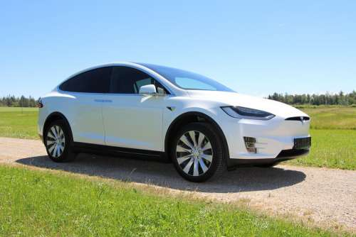 Tesla Electric Car Vehicle Car Auto Model X