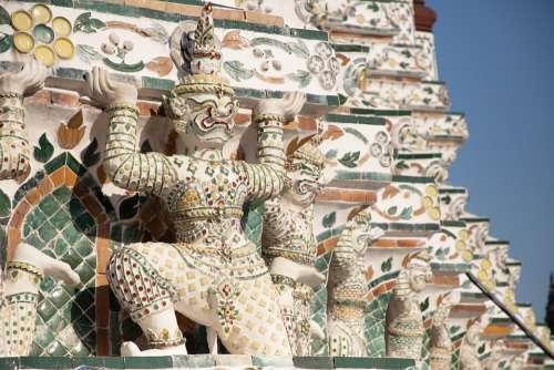 Thailand Temple Buddha Meditation Buddhism Asia