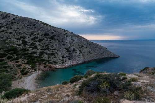 The Island Of Syros Aegean Costa Color Cyclades