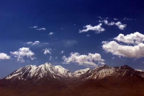 The Misti Arequipa Peru Volcano
