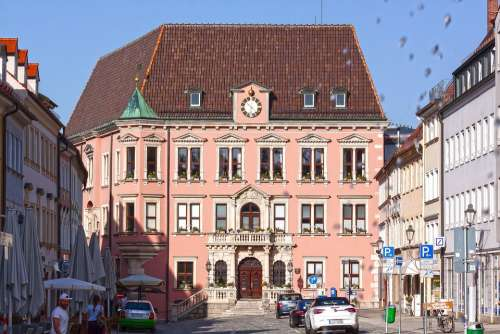 Town Hall Architecture Building Historically City