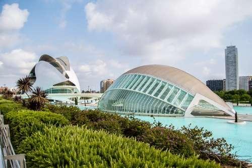 Valencia City Of Arts Travel Art Color Sculpture