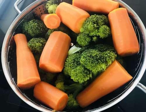 Vegetables Carrots Broccoli Cooking Food