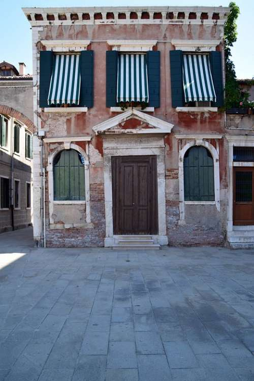 Venice Italy Architecture Old History House
