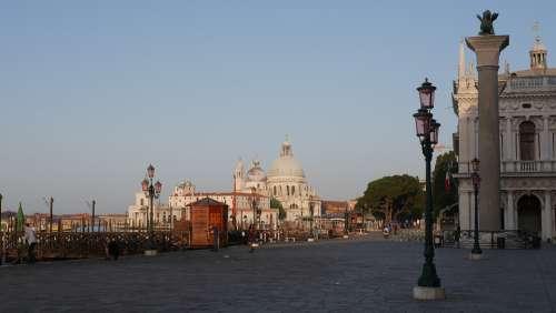 Venice Street Architecture Canal Travel Cityscape