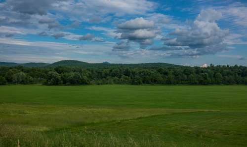 Vermont New England Green Mountains Landscape