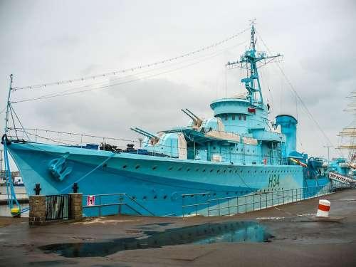 Vessel Ship Destroyer Nautical Museum Gdynia