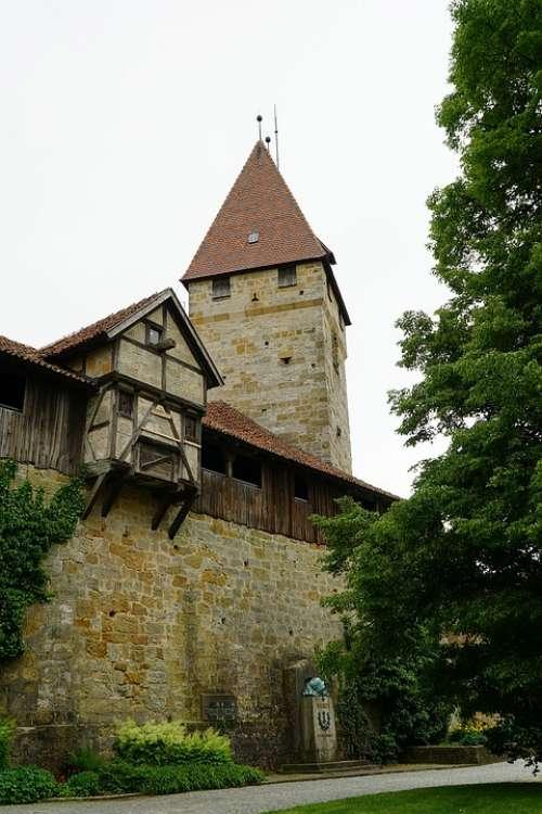 Veste Coburg Bulgarians Tower Gate Tower