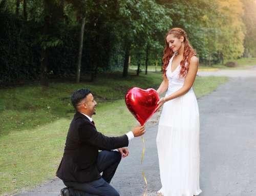 Wedding Love Romantic Romance Roses Couple Pink