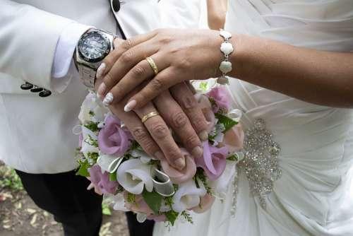 Wedding Grooms Women Couple Marriage People