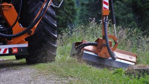 Weeds Lawn Mower Dig Mowing Meadow Cutting Herbs