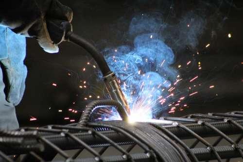 Welding Production Plant Welder Metal Work
