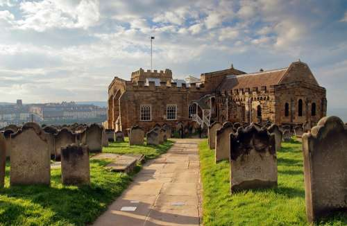 Whitby Church Historic Old Architecture England