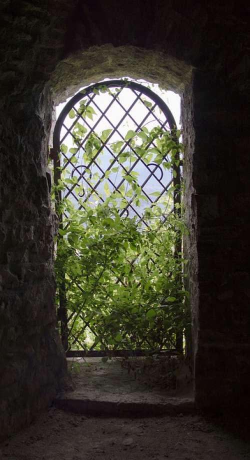 Window Light Architecture Dark Mood Tower Castle