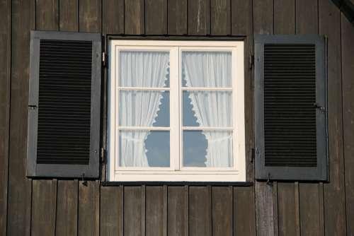 Window Wood Curtain Architecture Design