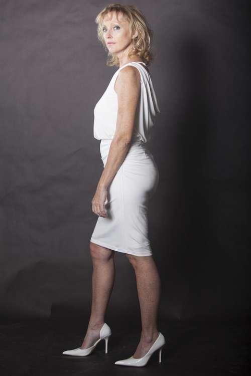 Woman Lady Business Woman Businesswoman Dress