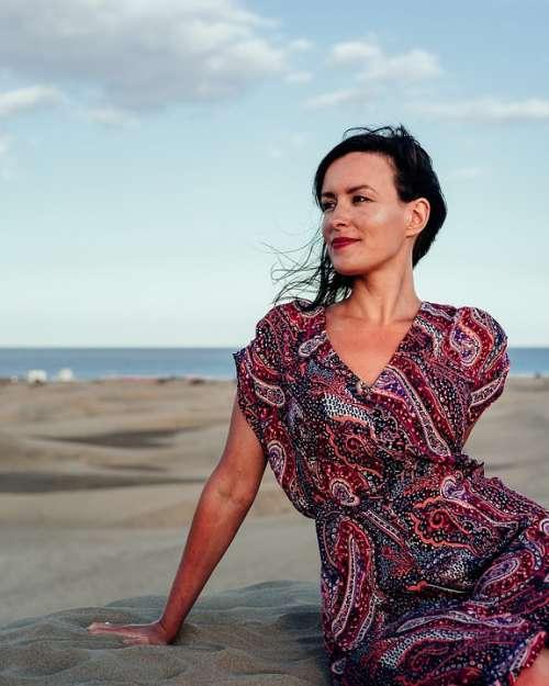 Woman Female Portrait Spain Spanish Gran Canaria