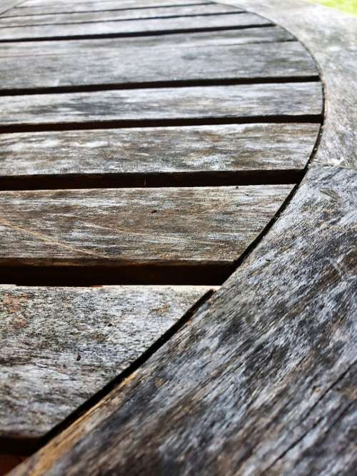 Wood Slats Weathered Old Boards Vintage Texture