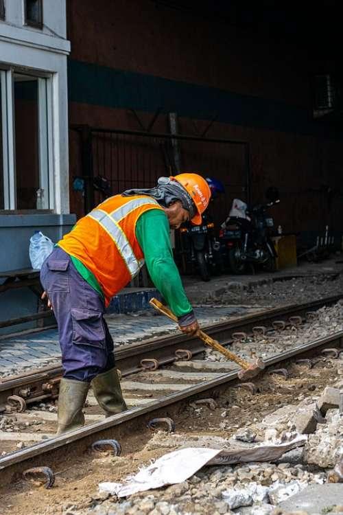 Worker Work Builder Industrial People Person