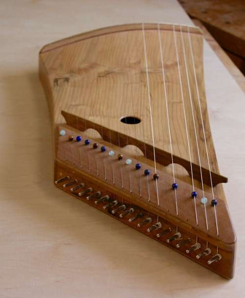 Zither Harp Zither Harp Cedar Instrument-Making