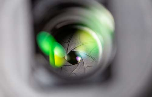 camera lens technology equipment close up