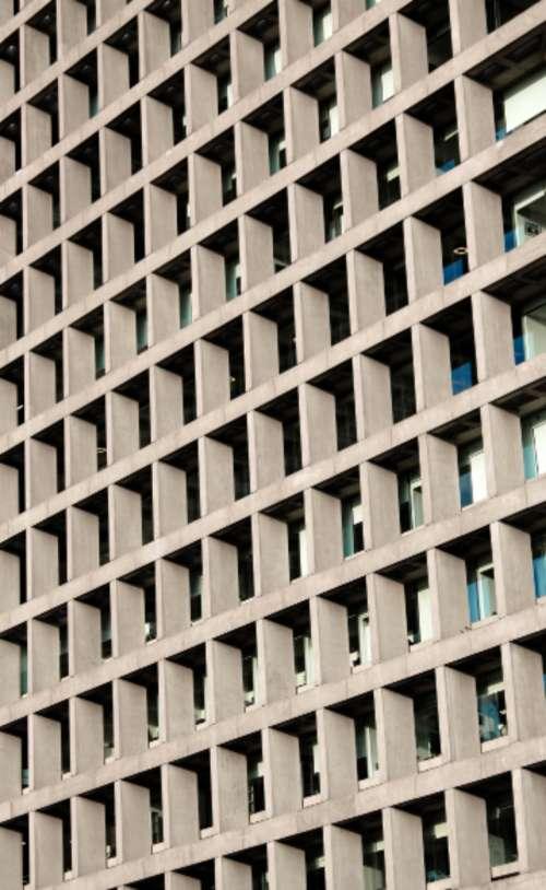 building pattern city urban windows