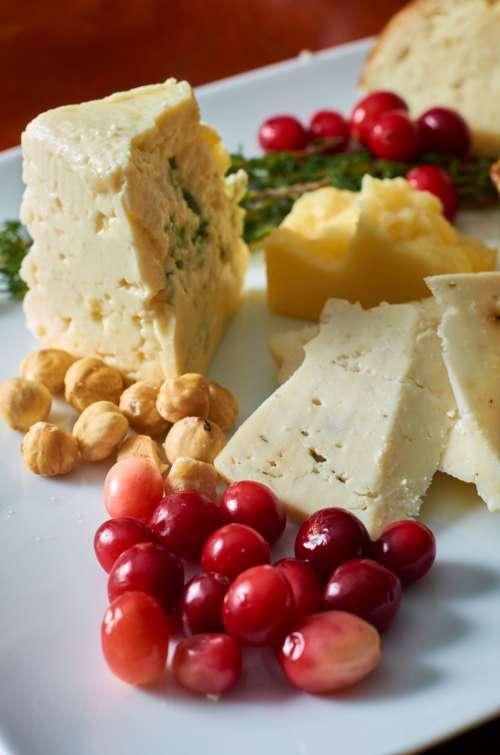 cheese plate platter assortment cheeses