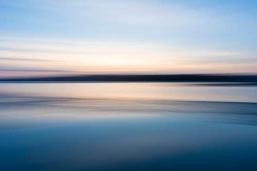 sky water horizon background lake