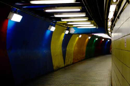metro subway tunnel underground transport