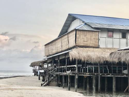 A Beach Shack On Stilts Photo