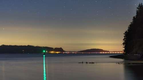Alien Lights Photo