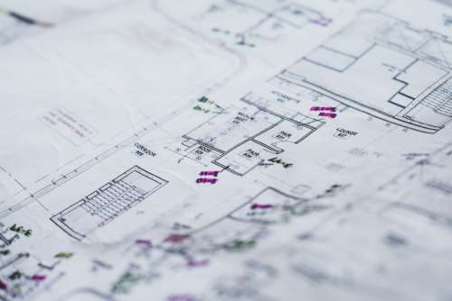 Blueprints For House Photo