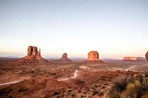 Dusky Desert Photo