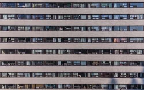Landscape Image Of Multi-Storey Building Photo