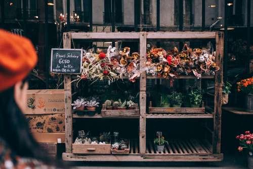 Mixes Flower Stall Photo