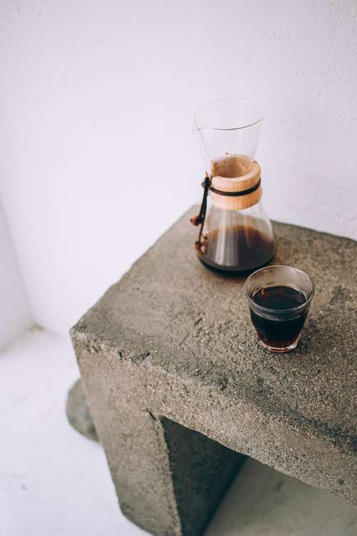 Pour Over Coffee At It's Finest Photo