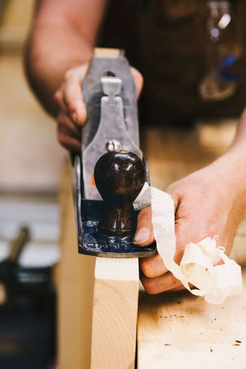 Wood Shaving Photo