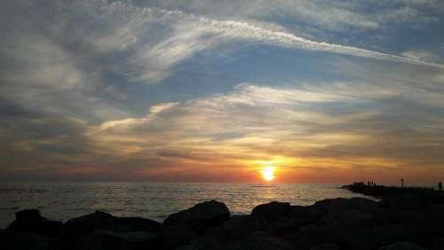 sunset florida sunset gulf coast sunset beach ocean