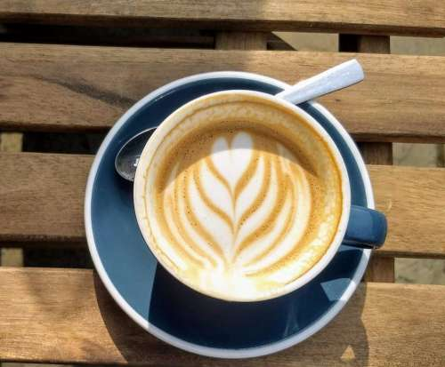 coffee flat white fern Cappuccino